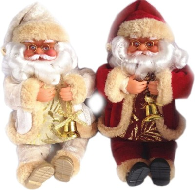 Gifts & Arts Gifts & Arts Pair Santa clause  - 25 cm