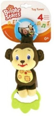 Bright Starts Tug Tunes Monkey 4 Melodies