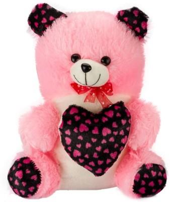 Ganpati Traders Printed Heart Teddy Bear  - 15 inch