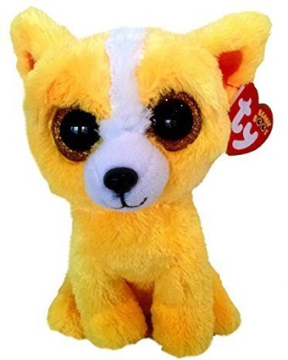 Ty Inc. Ty Dandelion The Yellow Dog Beanie Boos Special Edition