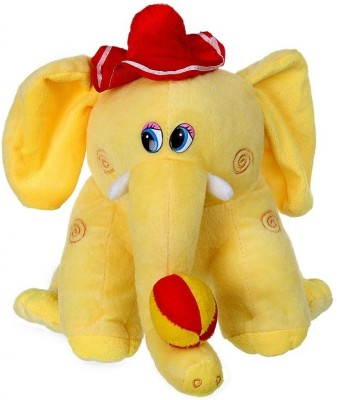 Tickles Cute Hat Elephant With Ball  - 23 cm