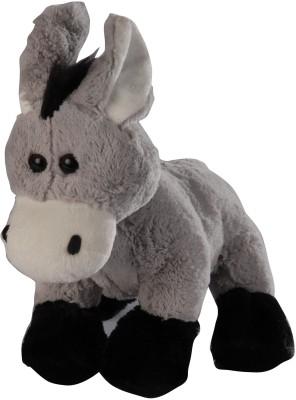 Soft Buddies Animal with Bell - Donkey  - 9 inch