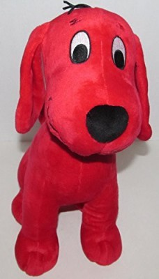 Scholastic Kohl,S Care Clifford The Big Red Dog Plush Dog