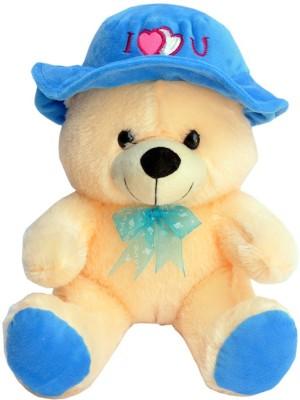 Tabby Toys Cute & Lovely Teddy With Cap  - 30 cm