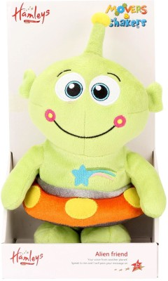 Hamleys Musical Soft Toy - Alien  - 8 inch