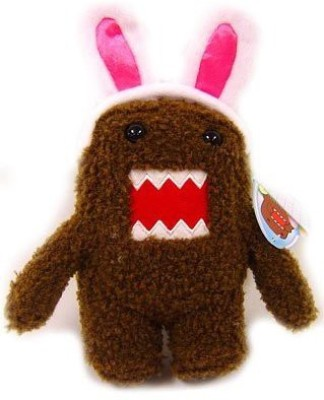 Domo 5 Inch Easter Spring Plush With Bunny Ears