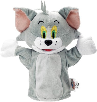 Tom and Jerry Tom Hand Puppet  - 10 inch
