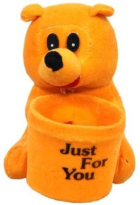 Atc Toys ATC Toys Orange Teddy-Penstand  - 15 cm