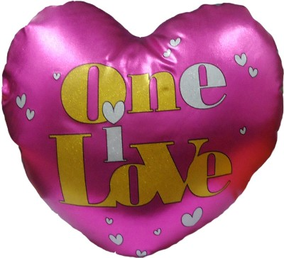 Archies Soft Love Heart Cushion A Beautiful & Lovely Gift For Your Valentine  - 11 inch(Pink)