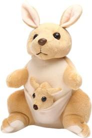 JRP Mart Kangaroo Mother and Baby - 25 cm(Beige)