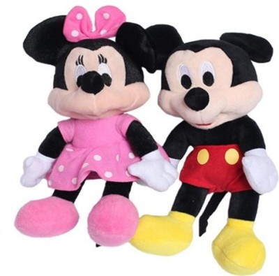 Meeras Mickey Mouse and Minnie Mouse beautiful gift for kids  - 9 inch
