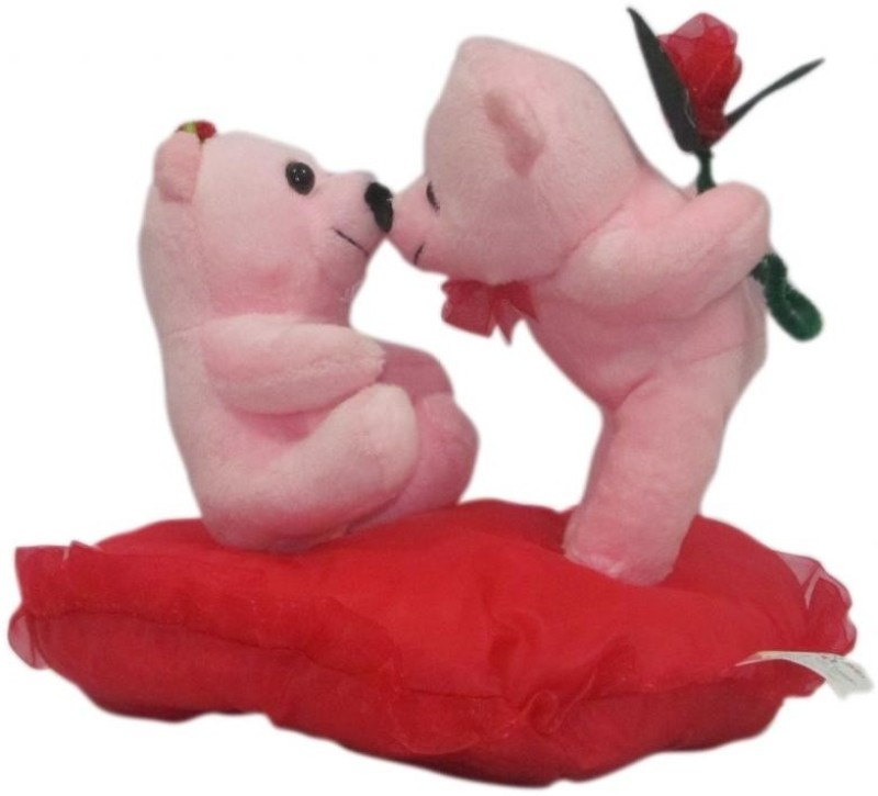 DealBindaas Kissing Couple  - 7.87402 inch(Pink)