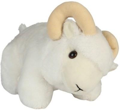 Ktkashish Toys White Cloth Stuffed Animal Toy  - 8 inch(White)