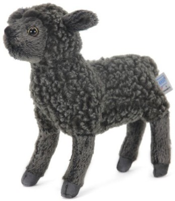 Hansa Little Lamb Plush7Black(Black)