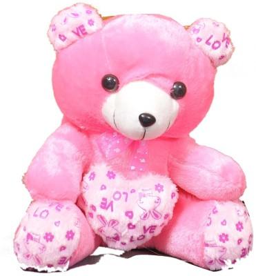 VRV Soft Toys Pink Teddy Bear  - 25 cm
