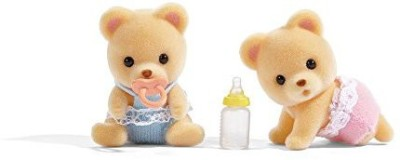 Calico Critters Cuddle Bear Twins Doll
