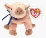 Beanie Babies TY Baby - KNUCKLES the Pig...
