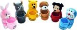 DIZIONARIO Soft Toy Cartoons Character W...
