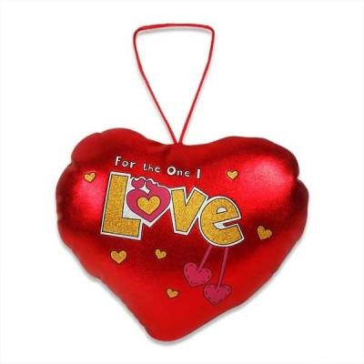 Archies Soft Hangable Love Heart A Beautiful & Lovely Gift For Your Valentine  - 6 inch(Red)
