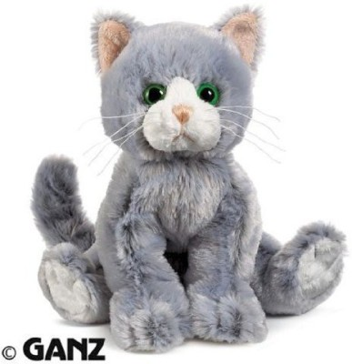 Webkinz Silversoft Cat With Trading Cards