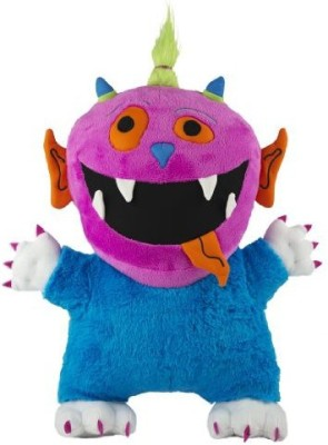 Goofy Grin Monsters Irmi Monster Plushpink And Blue
