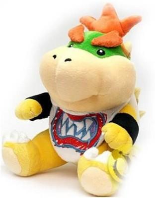 Super Mario Brothers Super Mario Bros Small Bowser Jr Plush Doll