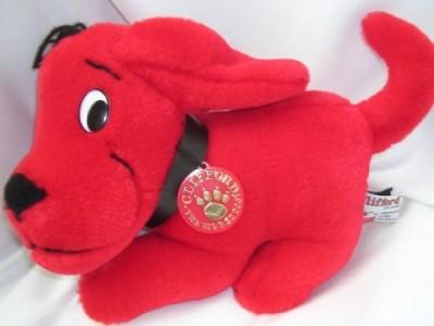 Scholastic Clifford The Big Red Dog Plush 9