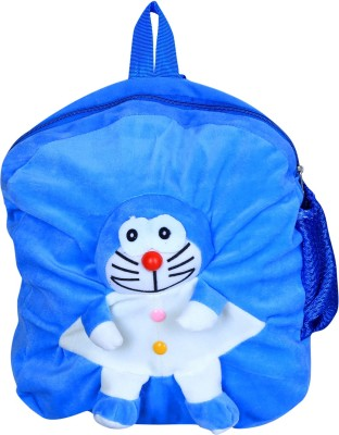 Blue Tree Soft Doraemon School Bag  - 14 inch