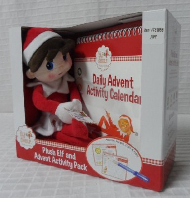 Unknown Elf On The Shelf Plush Elf And Advent Activity Pack Girl