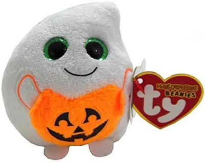 Ty Inc Ty Halloweenie Beanie Treatsie Ghost
