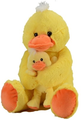 Fun Toys Duck With Baby - 10.6299 inch (Yellow)