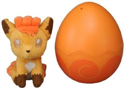 Takara Tomy Pocket Monster T03 Pokemon Vulpix Egg Plush Doll