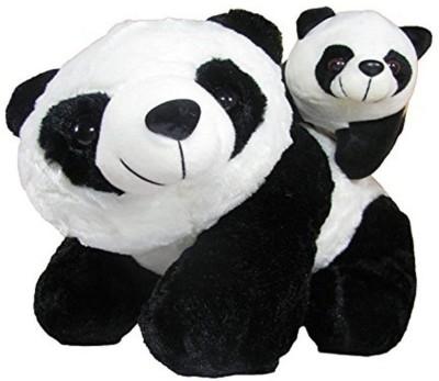 VRV Mother Panda With Baby Panda  - 12 inch