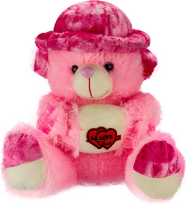 Glitters Valentines Adorable Toffee Teddy  - 18 Inch