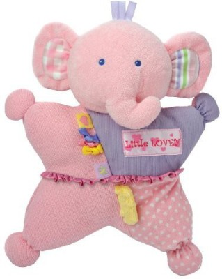 Kids Preferred Label Loveys Little Comfort Cuddly Tactile Lovey Elephant