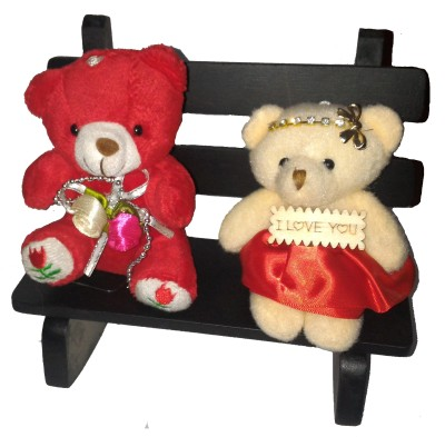 Exxact Bear with Bride  - 18 cm