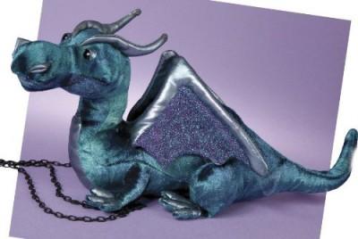 Douglas Cuddle Toys Plush Jade Blue Dragon 15