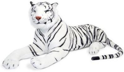 Creative Kids Stuffed Soft White Tiger  - 40 cm(White)
