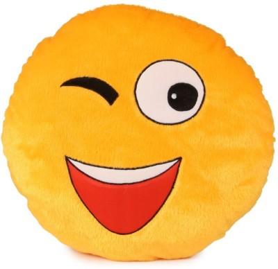 Dream Deals Smiley Cusion Eyes Blink  - 15 inch