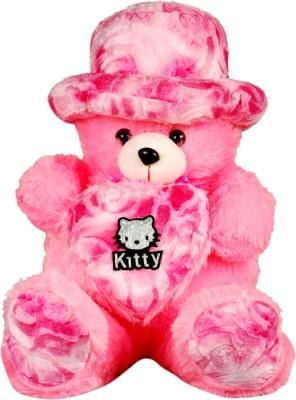Montez Cute Heart Teddy Bear  - 61 cm