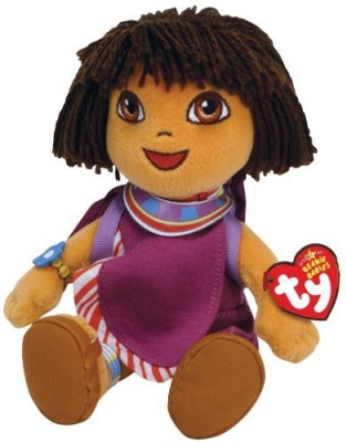 Dora the Explorer Ty Beanie Babies Dora Dora World Adventure Tanzania