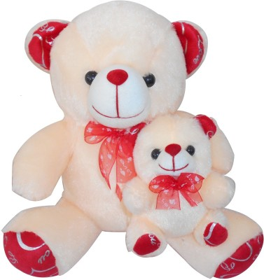 Saugat Traders Mother Child Teddy - 33 cm