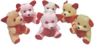 ARIP Cute 6 Inch 6 Teddy  - 6 inch
