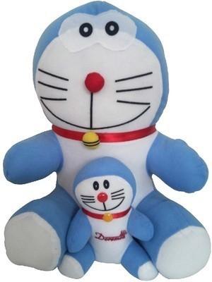 ARIP Naughty Doraemon & Chota Bheem Combo  - 13 inch