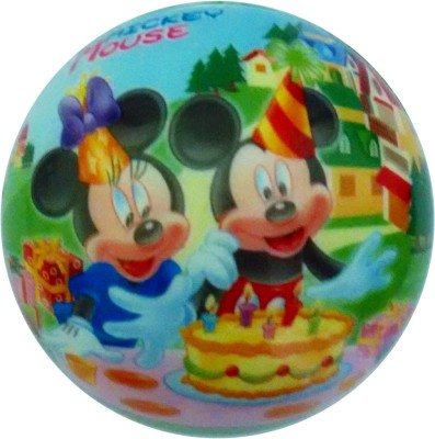 Lolprint 01 Mickey Mouse Soft Ball  - 4 inch