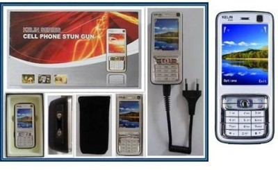 Krish 4.8 million volt Rechargeable Cellphone Stun Gun