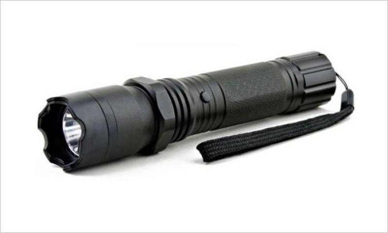 Grand Harvest 2.5 million volt Rechargeable Flash Light Stun Gun