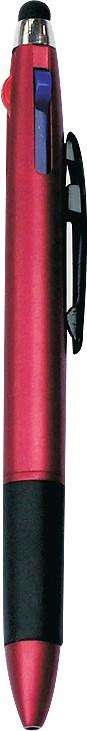 PeepalComm 3 refill pen with Stylus Stylus(Red)