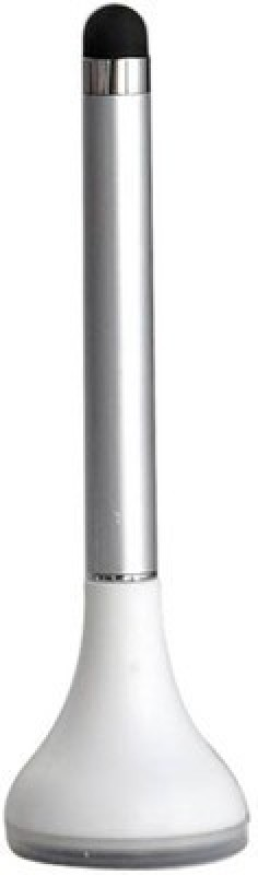 Divine XT Plungee 3 in 1 table top Pen with stylus and cleaner Stylus(Silver)