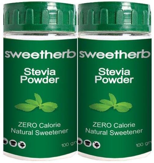 sweetherb Stevia Sugarfree Powder (Table-top Sweetner, ZERO Calorie) Sugar